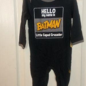 BATMAN BOYS 6/9 M 100% COTTON SLEEPER